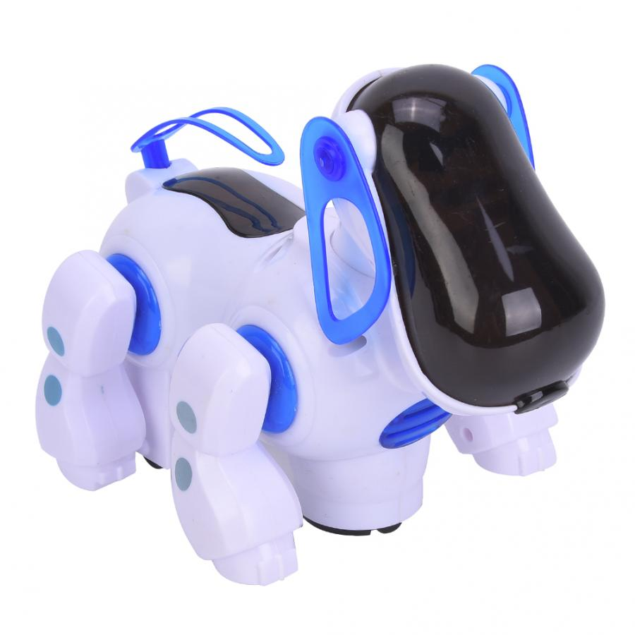 Hot Dog Robot Toys for Children Music Light Electronic Interactive Walking Puppy Sing Dance Robot Dog Pet Toy