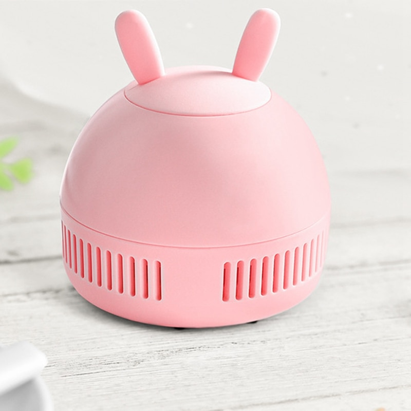 Portable Practical Electric Desktop Vacuum Cleaner Home, Micro-USB By Button Random Desktop Cleaner Dust Collector for Notebook