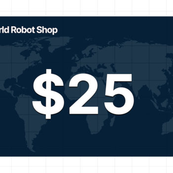 World Robot Shop 25 dollar gift card
